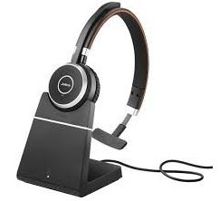 Jabra Evolve 65+ MS Mono, Headset and Base 1