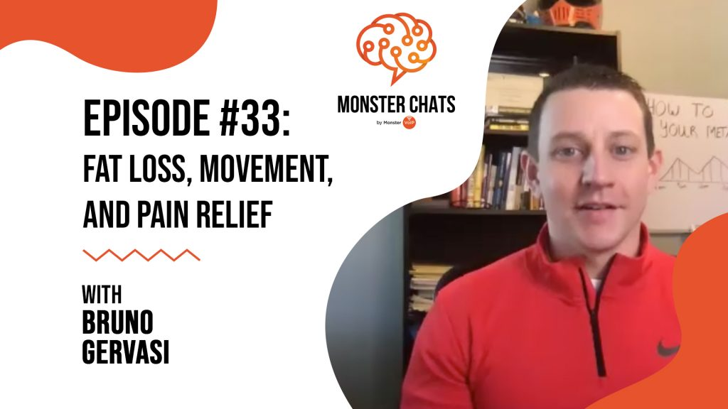 Episode #33 Fat Loss, Movement, And Pain Relief with Bruno Gervasi 73