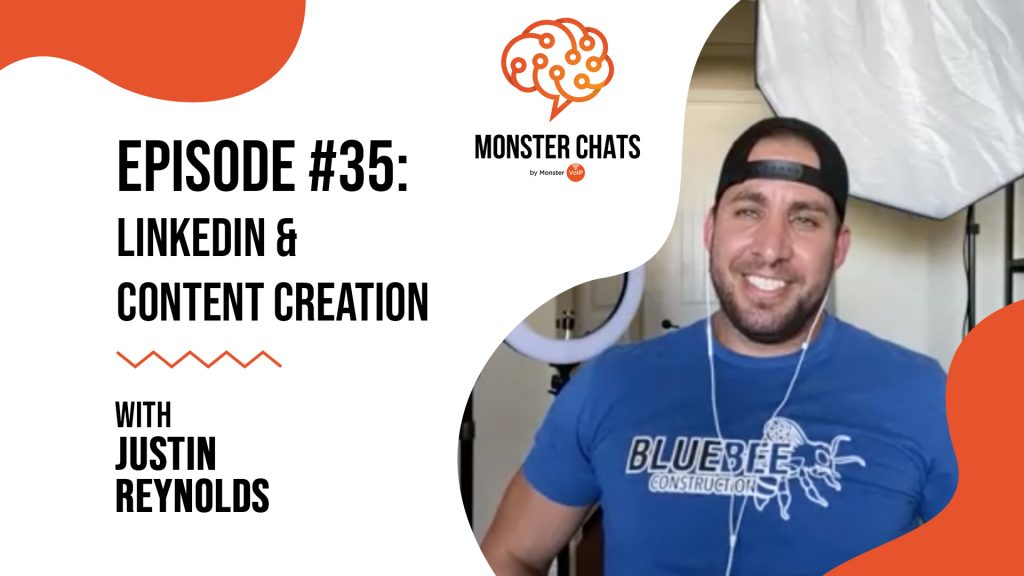 Episode #35 LinkedIn & Content Creation with Justin Reynolds 57